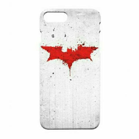 Batman The Dark Knight Red Icon iPhone 7 Plus - 7s Plus Custom Hard Case