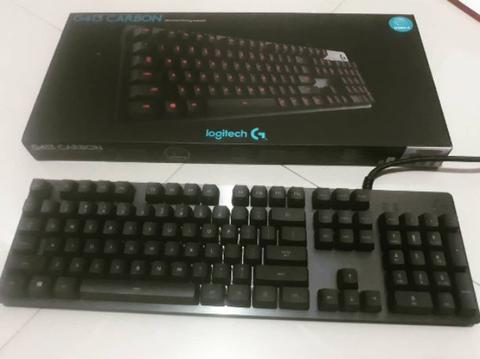 - Logitech G413 Carbon ( Mechanical Keyboard ) -