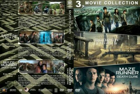 maze runner dvd movie collection boxset