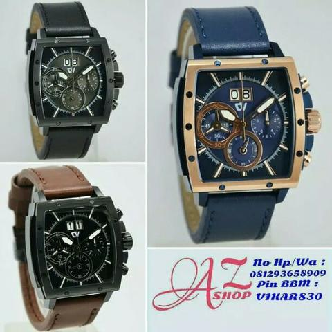 Jam Tangan Pria Christ Verra C70116G Leather Kulit Original Murah