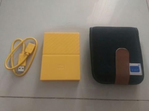 For Sale external harddisk 1TB WD my passport
