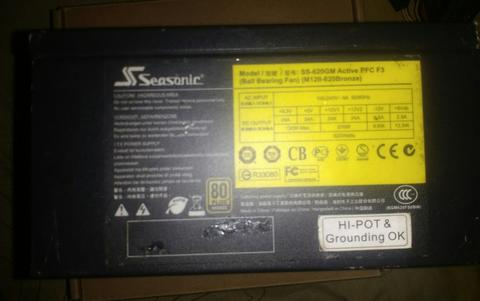 Seasonic SS-620GM (M12II Bronze)