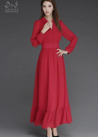 2017 Zashion Jubah Collection 2 - Solid Style with Cuff Sleeve