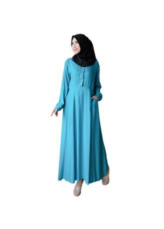 Ayako Fashion Long Sleeve Maxi Hilda - (11 Warna)