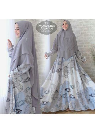 Humaira99 Dress Muslimah Monalisa XXL
