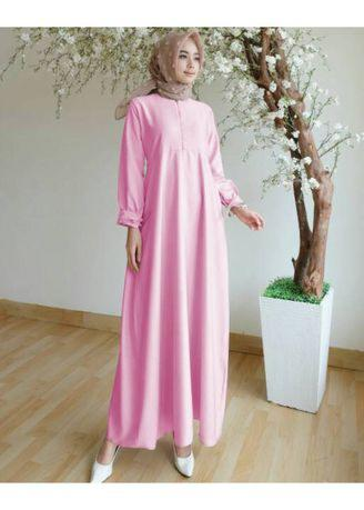 Ayako Fashion Long Sleeve Maxi Lisyah (4 Warna)