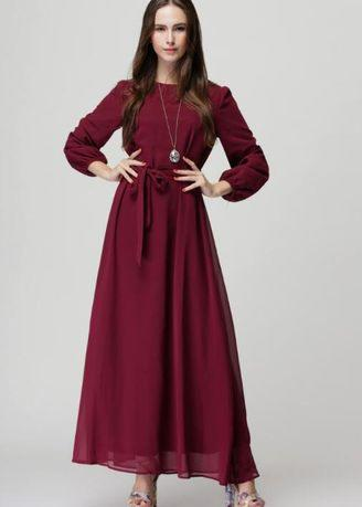 Zashion Jubah Collection 2017 - Chiffon Fabric