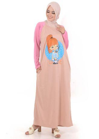 Gamis Darla GM 204 - Brown