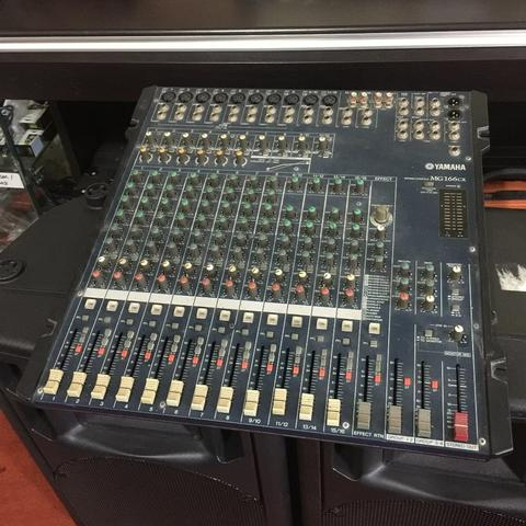 ***BILLY MUSIK*** Mixer Yamaha MG166CX MG-166CX 16 Channel 4Bus DSP Effects