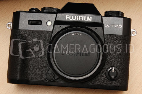 [ CAMERA GOODS ] FS Fujifilm X-T20 Black Body Only - Fuji Indo Nov 2018