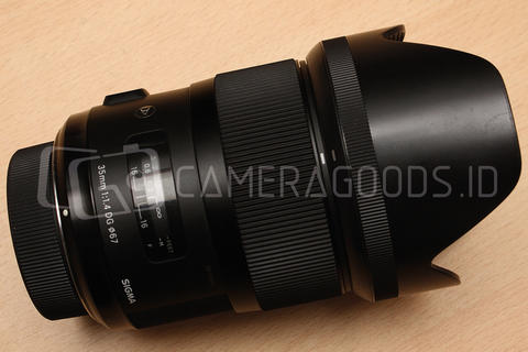 [ CAMERA GOODS ] FS Sigma 35mm F1.4 DG HSM ART For Nikon - Like New Condition