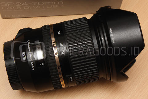 [ CAMERA GOODS ] FS Tamron Lens SP 24-70mm F2.8 Di VC USD For Canon Like New