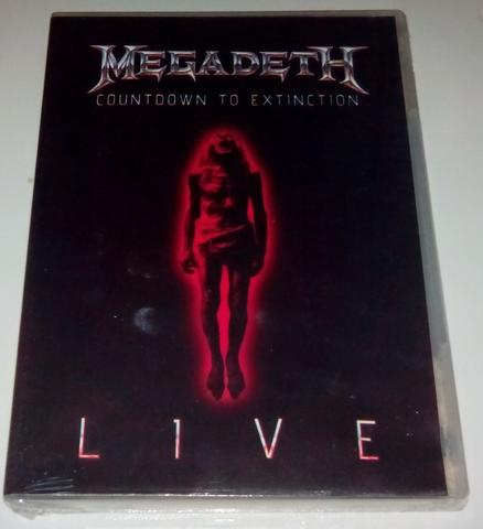 DVD original Megadeth - Countdown to extinction Live