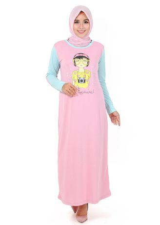Gamis Neira GM 140 - Pink