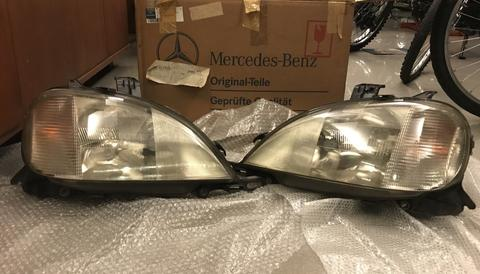 Headlamp Stoplamp Mercy ML W163