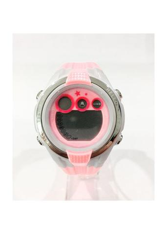 Jam Tangan Anak Hello Kitty HKSQ1382-01B - Rubber - Orange