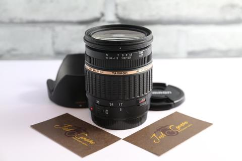 JOELCAM - TAMRON FOR CANON 17-50MM F2.8 DI XR - FULLSET BOX - MULUS