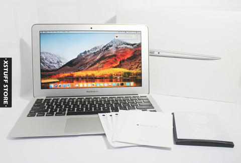 MacBook Air 11 2015 i5 1.6GHz 4GB 128GB IntelHD Graphics 6000 FULLSET