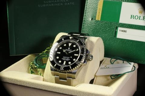 Rolex Submariner no date 114060 Stainless