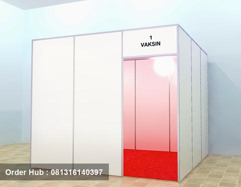 stand pameran, booth pameran, sewa panel photo r8