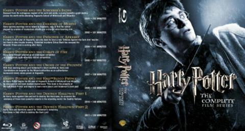 harry potter 8 dvd movie collection boxset