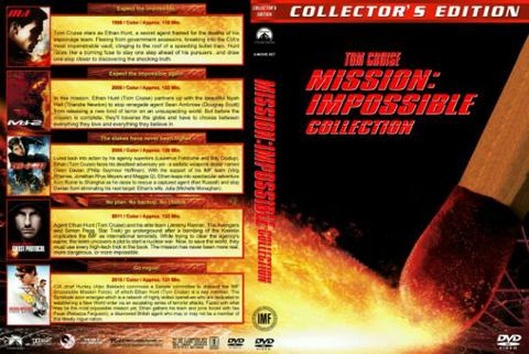 mission impossible movie dvd collection