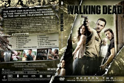 walking dead session 2. dvd movie collection boxset