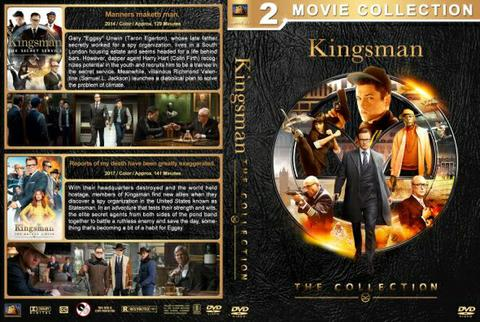 kingsman dvd movie collection boxset