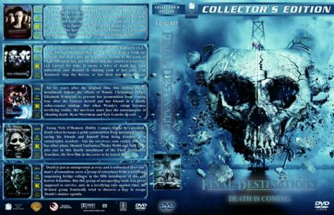 final destination dvd movie collection boxset