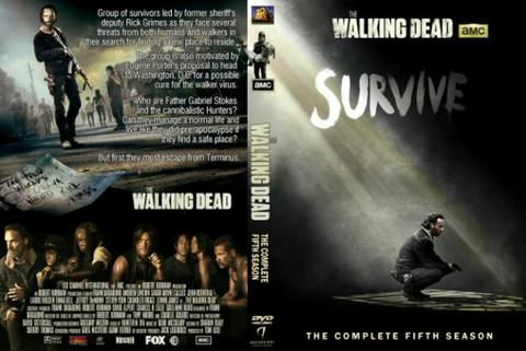 walking dead session 5. dvd movie collection boxset