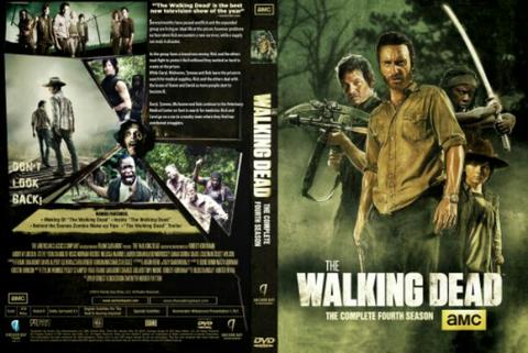 walking deas session 4. dvd movie collection