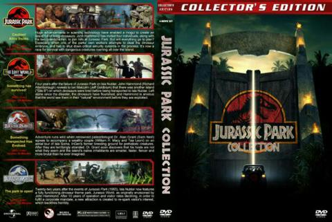 jurassic park dvs movie collection