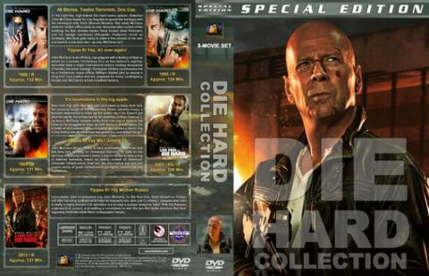 die hard 5 dvd movie collection boxset