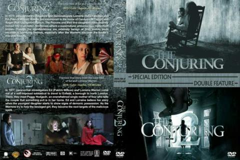 conjuring 2 dvd film movie collection