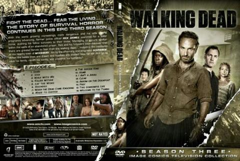walking dead session 3. dvd movie collection boxset