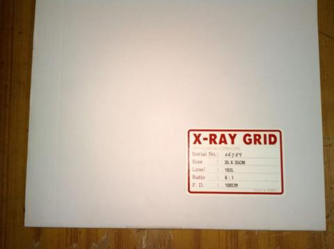 Grid radiologi 35x35 ratio 8:1