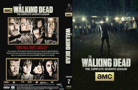 walking dead session 7. dvd movie collection