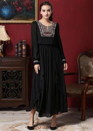 2017 Zashion Jubah Collection 2 - Black