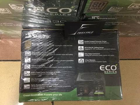 Psu seasonic eco 430w 80+brownze