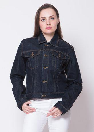 2Nd Red Jaket Jeans Regular Fit Black Denim Bahan Melar Hitam 291801