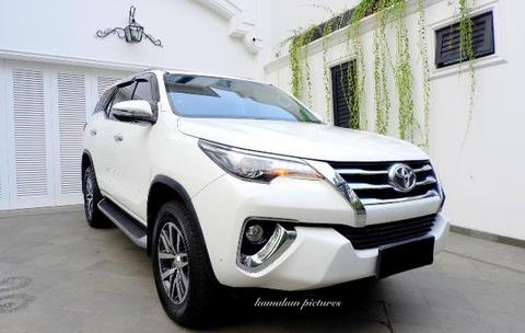 All new FORTUNER VRZ Diesel 2016 White SUPER MULUS MURAH banget!