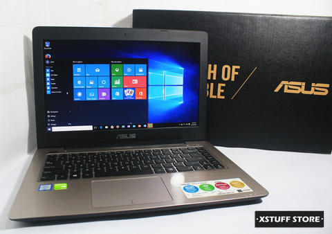 ASUS A456UR Core i5-6200U 2.8GHz 4GB 1TB VGA NVIDIA GeForce 930MX 2GB