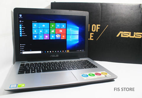 ASUS A456UR Core i5-7200U 3.1GHz VGA NVIDIA GeForce 930MX 2GB Full-HD