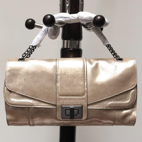 BCBG Max Azria Hand Bag Gold Original
