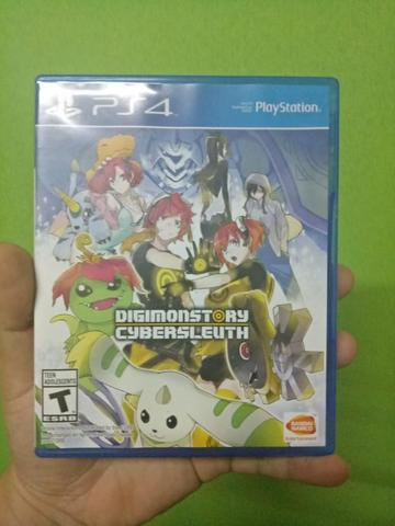 BD PS4 Digimon Story Cyber Sleuth REG ALL!