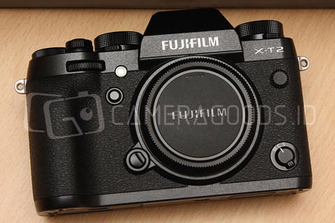 [ CAMERA GOODS ] FS Fujifilm X-T2 Black Body Only - Like New Condition - Nov 2018