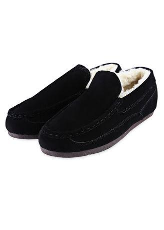 Casual Pure Color Thickening Warm Ladies Cotton-Padded Shoes