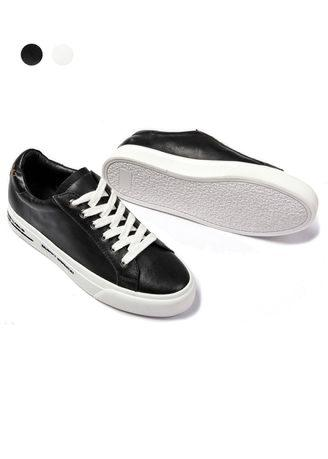 Genuine Leather Korean Type Sneaker Casual Shoes