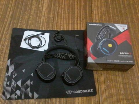 Headset Arctis 5 Black Steelseries
