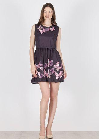 Innara Butterfly Party Mini Dress